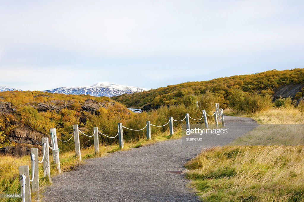 Icelandic landscape : Stock Photo