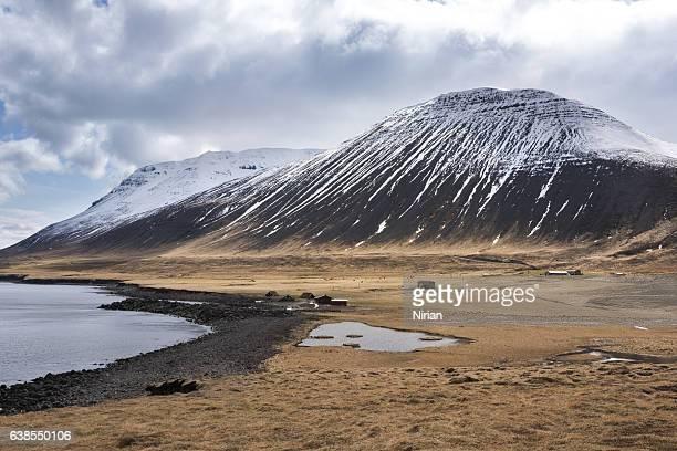Isländische-Berge