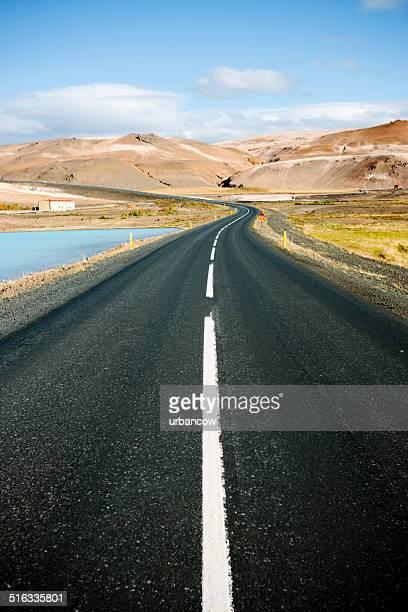 Icelandic road, Myvatn Nature Baths