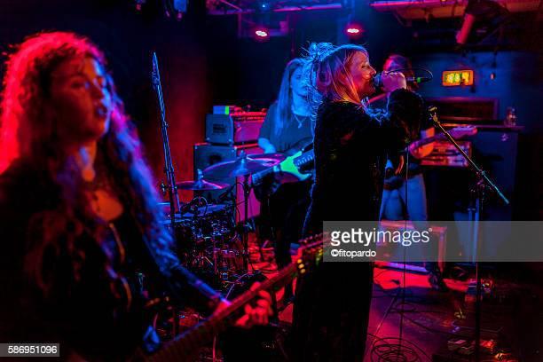 Icelandic Rock Band performing
