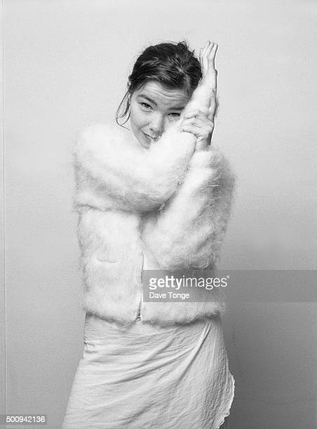 Icelandic singer Bjork Wandsworth London 1993