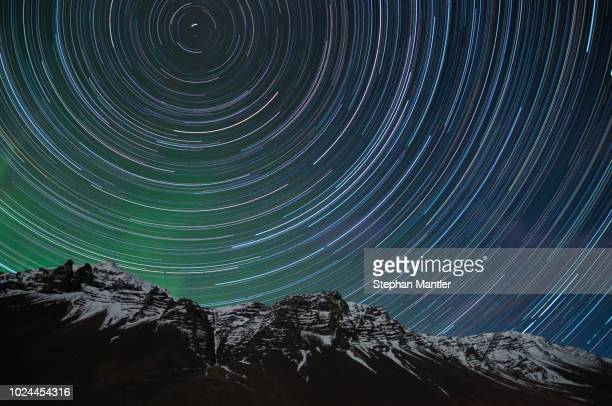 Icelandic Star Trails