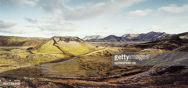 Icelandic volcano at landmannalaugar
