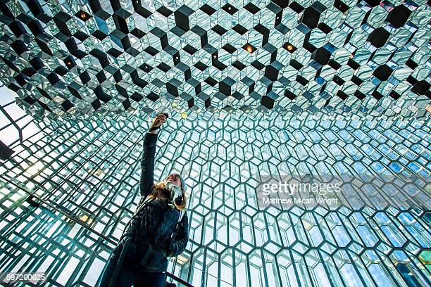 Iceland's landmark Opera House, the Harpa