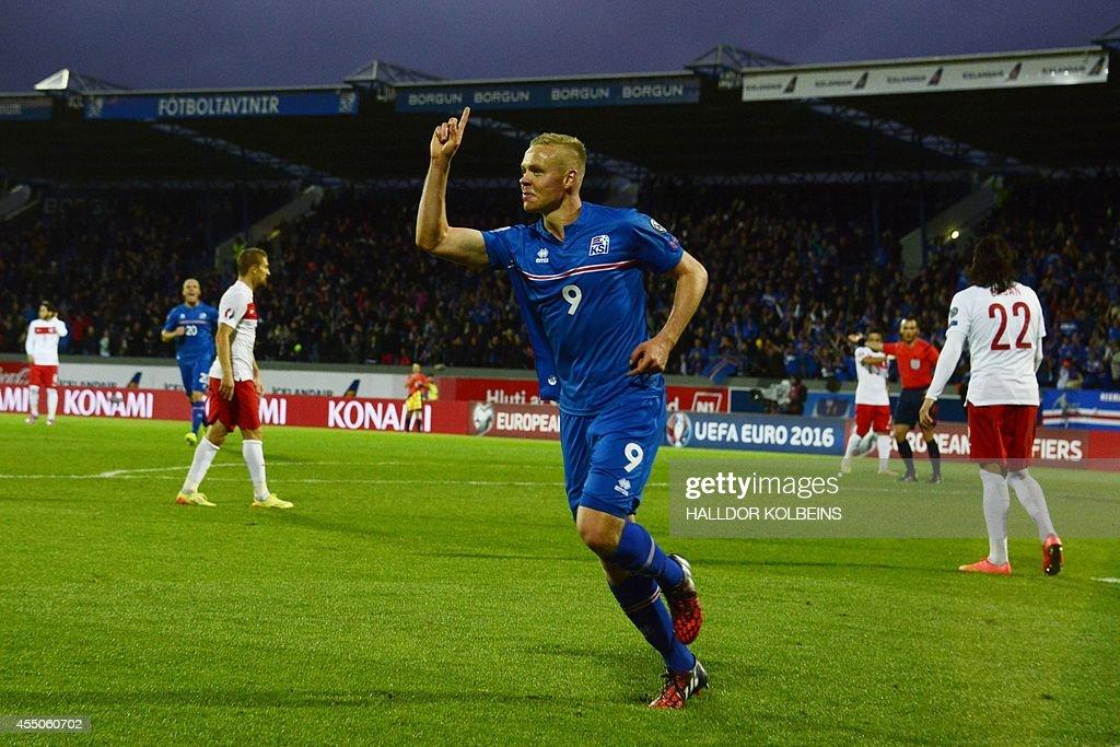 FBL-EURO-2016-ISL-TUR : News Photo