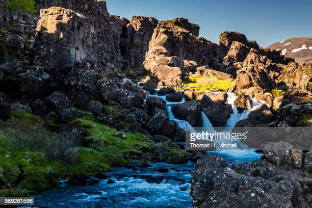 iceland-thingvellir national park - brook mitchell stock pictures, royalty-free photos & images