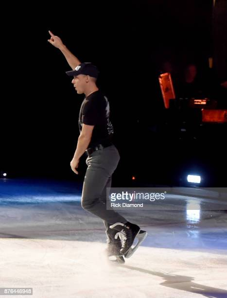 Iceskater Kurt Browning performs during the second annual An Evening Of Scott Hamilton Friends hosted by Scott Hamilton to benefit The Scott Hamilton...