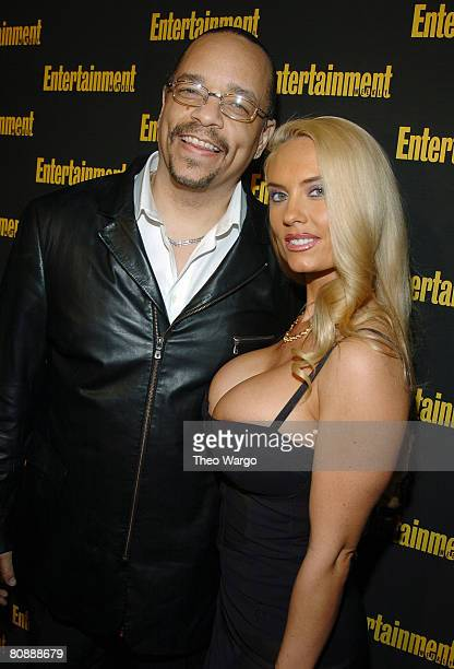 IceT and Coco at the 11th Annual Entertainment Weekly Oscar Viewing Party at Elaine's
