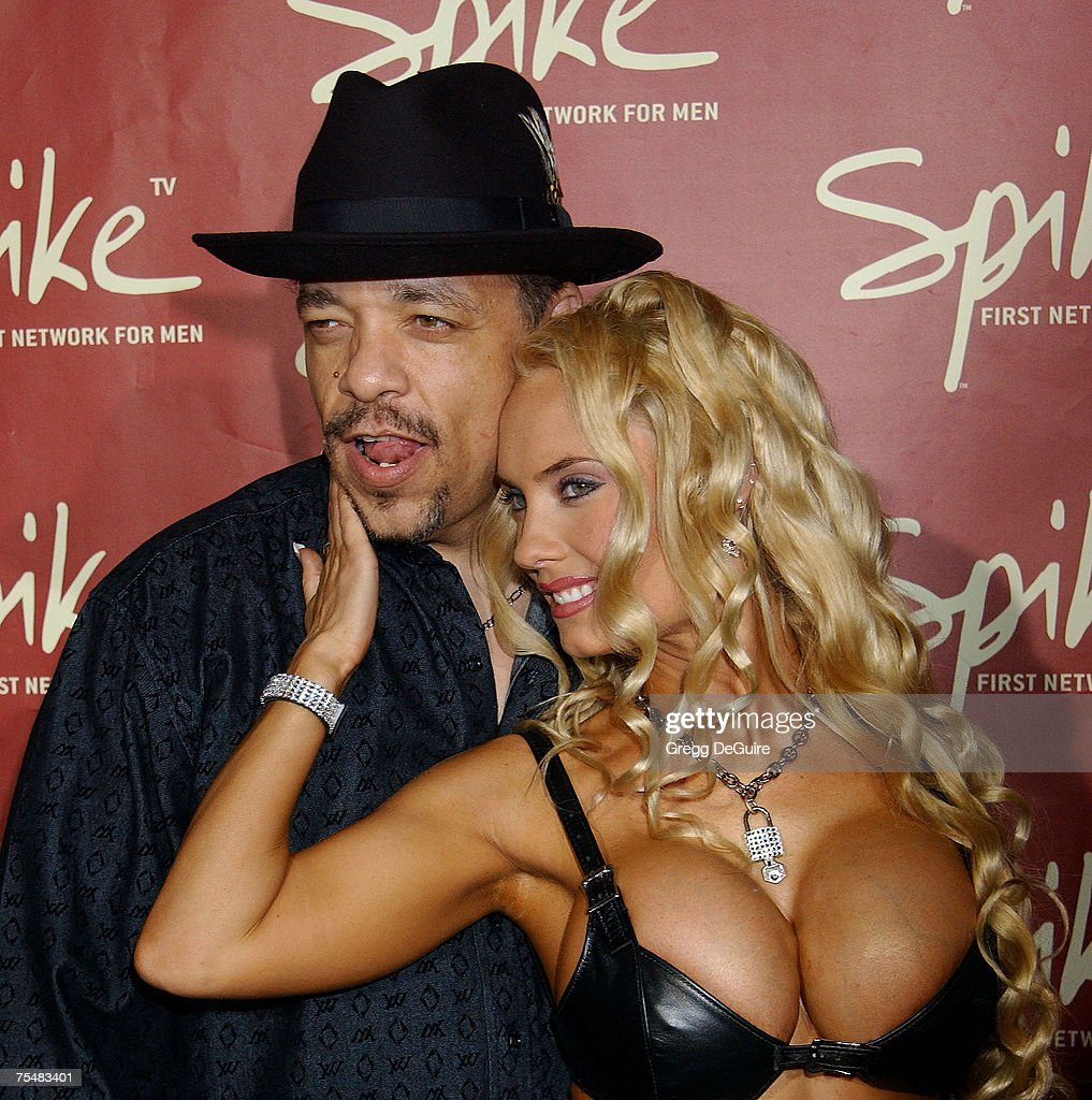 Ice-T and Coco at the Playboy Mansion in Los Angeles, California