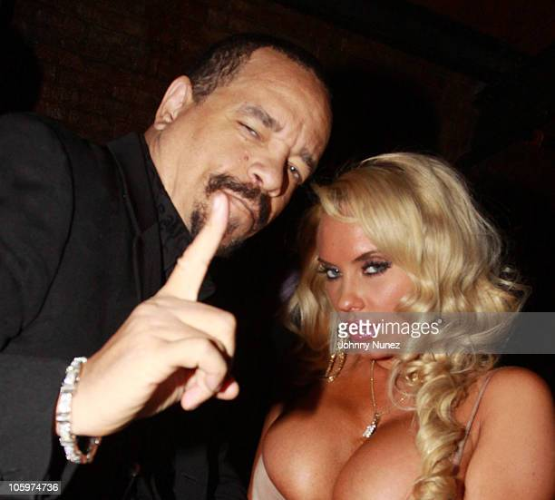 IceT and Coco attend a party at Amnesia NYC on October 22 2010 in New York City