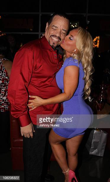 IceT and Coco attend Coco's birthday party at the Hudson Eatery on April 3 2010 in New York City