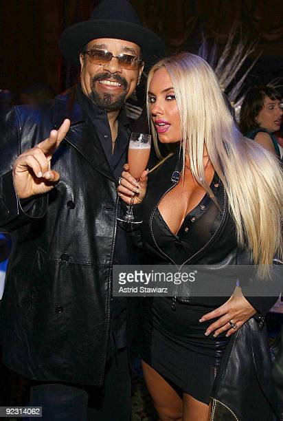 """Ice-T and Coco attend the 30th Birthday Bash """"Cold as Ice"""" at Cipriani 42nd Street on October 23, 2009 in New York City."""