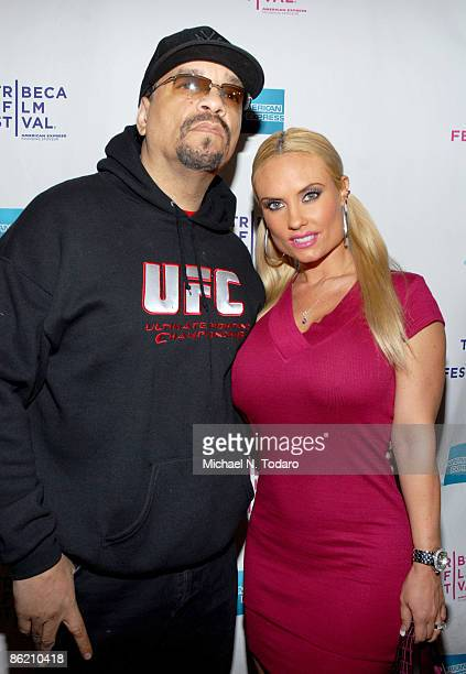 IceT and CoCo attend the 8th Annual Tribeca Film Festival Burning Down the House The Story of CBGB premiere at the AMC Village 7 on April 24 2009 in...