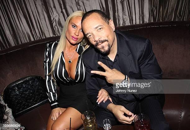 IceT and Coco attend the Prince Malik Records label launch party at 1OAK on October 18 2010 in New York City