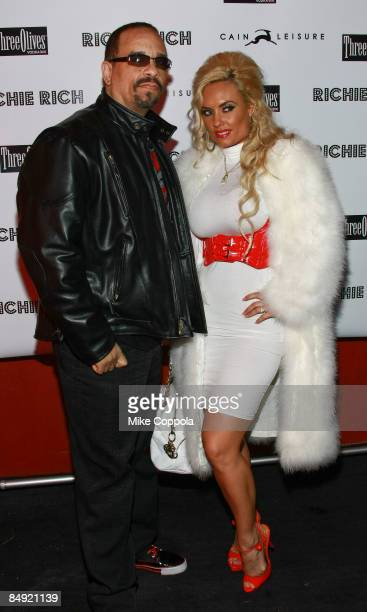 IceT and Coco attend the Richie Rich after party at Cain Luxe during MercedesBenz Fashion Week Fall 2009 on February 18 2009 in New York City
