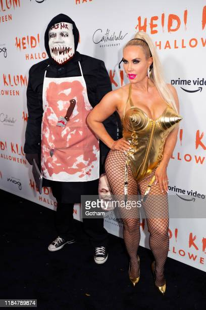 IceT and Coco Austin attend Heidi Klum's 20th Annual Halloween Party at Cathédrale on October 31 2019 in New York City