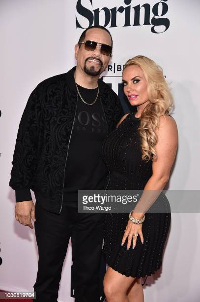 IceT and Coco Austin attend the Law Order SVU 20th Anniversary Celebration the 2018 Tribeca TV Festival at Spring Studios on September 20 2018 in New...