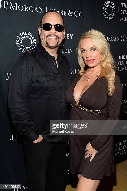IceT and Coco Austin attend the Paley Center For Media's Hollywood Tribute To AfricanAmerican Achievements in Television Presented by JPMorgan Co on...