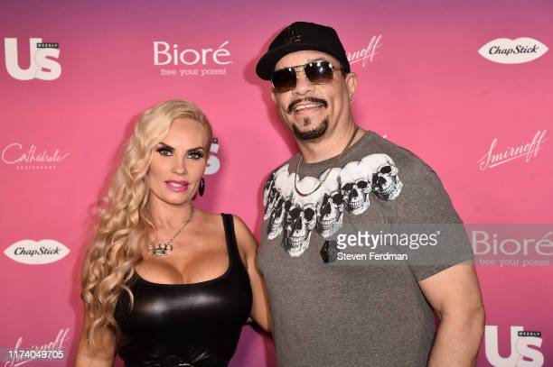 Ice-T and Coco Austin attend US Weekly's 2019 Most Stylish New Yorkers red carpet on September 11, 2019 in New York City.