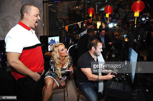 IceT and Coco celebrate the launch of Sunset Overdrive at the XboxOne Loft on October 27 2014 in New York City