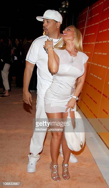 IceT and Coco during Desperate Housewife Nicollette Sheridan Joins ABSOLUT to Host the Launch of their New Flavor APEACH at Koi at the Bryant Park...