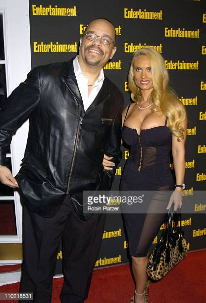 IceT and Coco during Entertainment Weekly 11th Annual Oscar Viewing Party at Elaines Restaurant in New York City New York United States