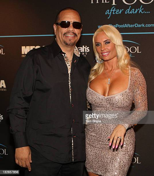 IceT and Coco host The Pool After Dark at Harrah's Resort on Saturday November 12 2011 in Atlantic City New Jersey