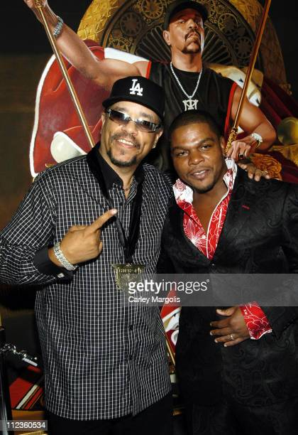 Ice-T and Kehinde Wiley during 2005 VH1 Hip Hop Honors - Pre-Party at Splashlight Studios in New York City, New York, United States.