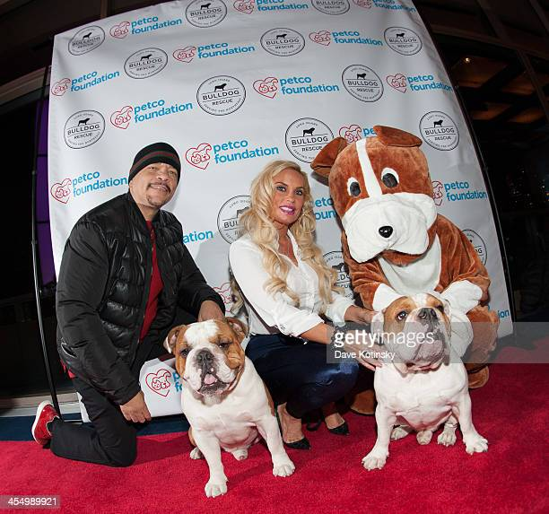 IceT and wife CoCo attend the Beth Stern Benefit For The Bulldgs event at Rosenthal Pavilion on December 10 2013 in New York City