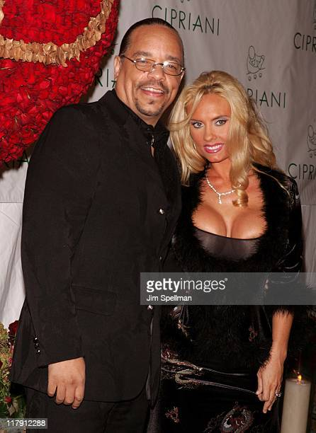 IceT and wife Coco during Royal Birthday Ball for Sean P Diddy Combs Outside Arrivals at Cipriani in New York City New York United States