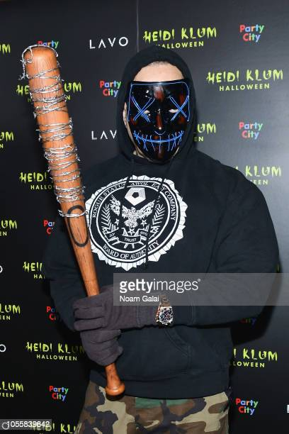 IceT attends Heidi Klum's 19th Annual Halloween Party presented by Party City and SVEDKA Vodka at LAVO New York on October 31 2018 in New York City