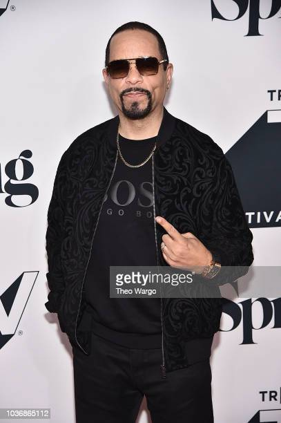 """Ice-T attends the """"Law & Order: SVU"""" 20th Anniversary Celebration the 2018 Tribeca TV Festival at Spring Studios on September 20, 2018 in New York..."""