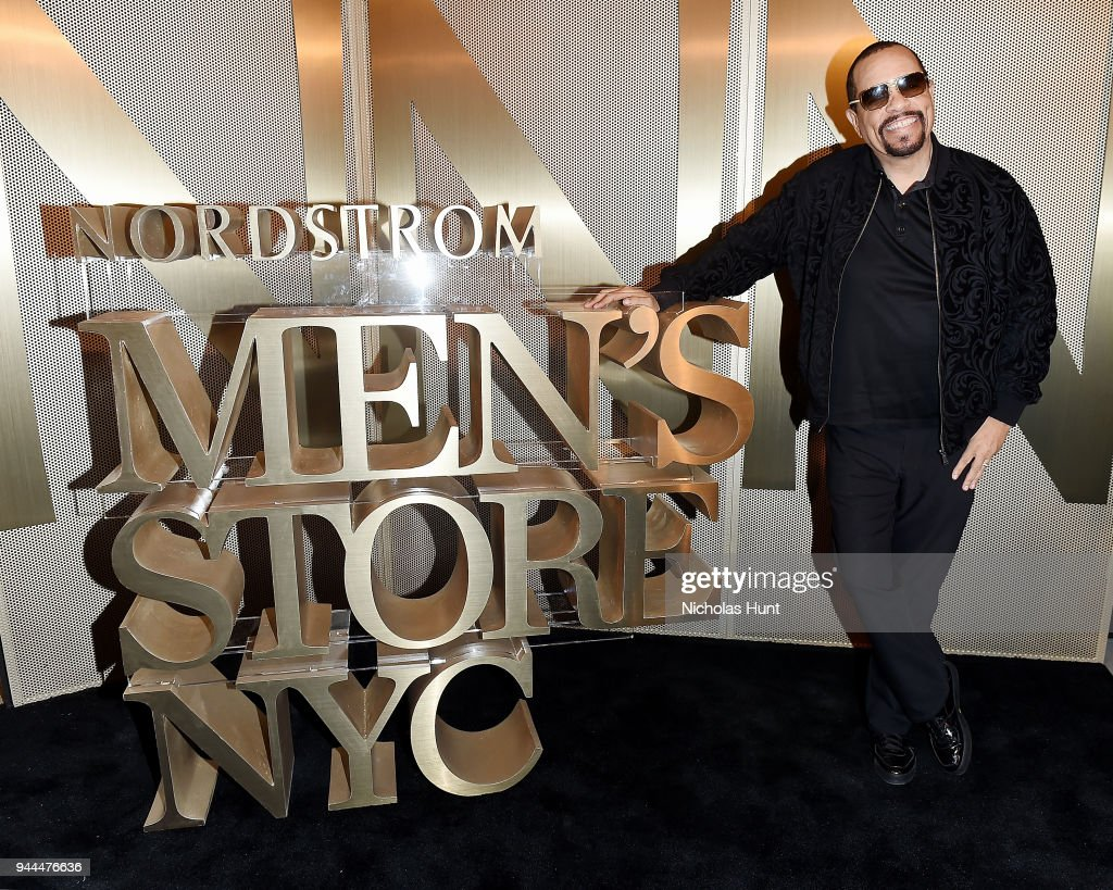 Ice-T attends the Nordstrom Men's NYC Store Opening on April 10, 2018 in New York City.