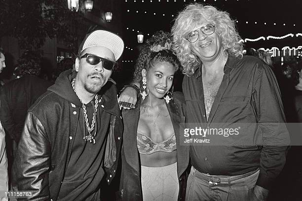 IceT Darlene Ortiz and guest during 1989 MTV Video Music Awards in Los Angeles California United States