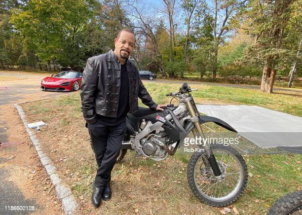 """Ice-T on the film set of """"3 Days Rising"""" produced by Noel Ashman and Ice-T on November 09, 2019 in West Orange, New Jersey."""