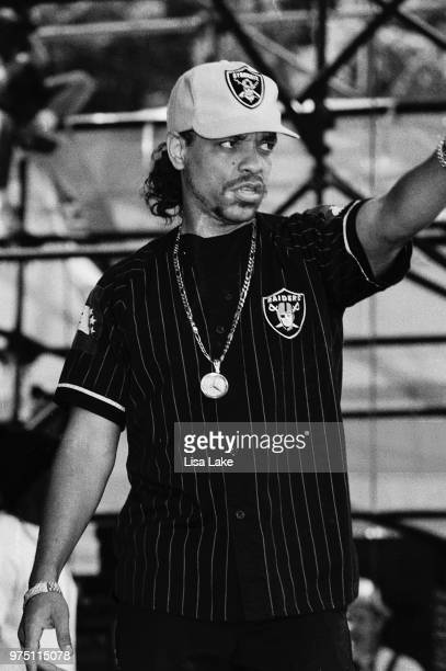 IceT performs on August 01 1991 during Lollapalooza in Waterloo Village Stanhope New Jersey