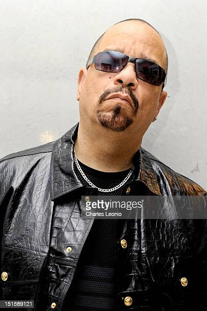 IceT poses at the Guess Portrait Studio on Day 3 during the 2012 Toronto International Film Festival at Bell Lightbox on September 8 2012 in Toronto...