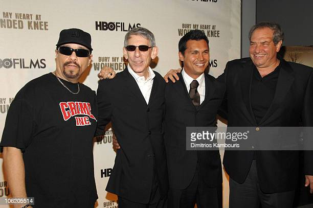 IceT Richard Belzer Adam Beach and Dick Wolf executive producer