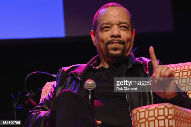 Ice-T speaks on the Keynote Q&A: Ice-T panel onstage during IEBA 2017 Conference on October 15, 2017 in Nashville, Tennessee.