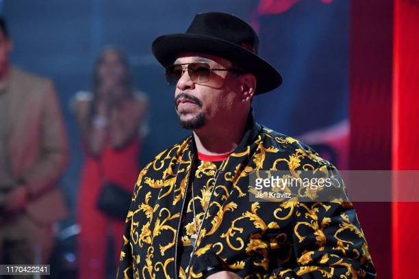 Ice-T speaks onstage during the 2019 MTV Video Music Awards at Prudential Center on August 26, 2019 in Newark, New Jersey.