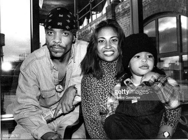 IceT with his second wife Darlene Ortiz and son Ice Tracy Marrow London United Kingdom 1993