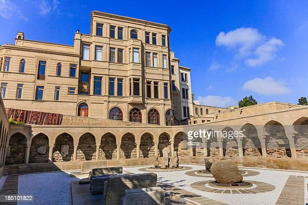 ichari shahar old town baku azerbaijan archeology display - baku stock pictures, royalty-free photos & images