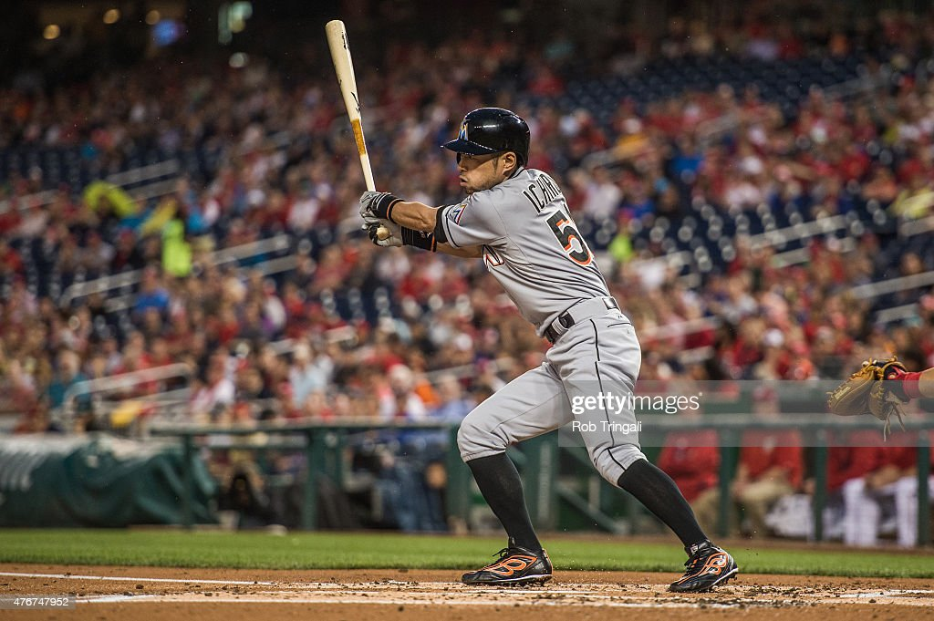 Miami Marlins v Washington Nationals : ニュース写真