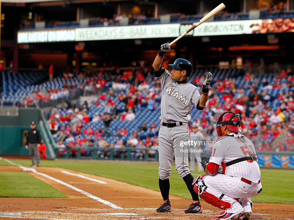 Miami Marlins v Philadelphia Phillies : ニュース写真