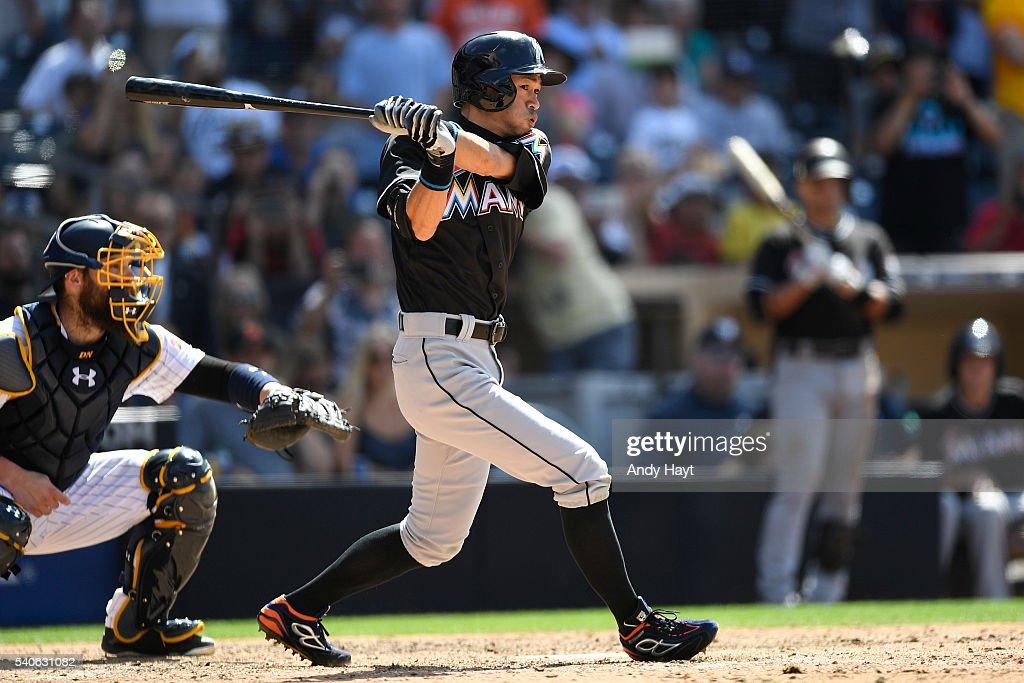 Miami Marlins v San Diego Padres : News Photo