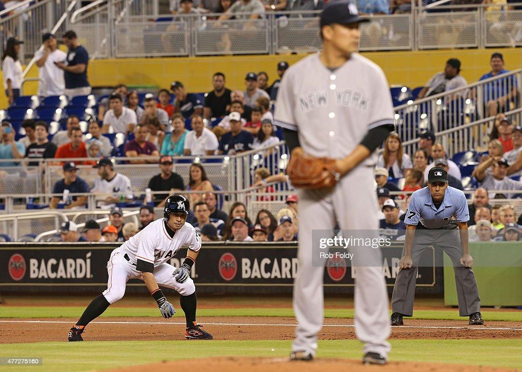 New York Yankees v Miami Marlins : ニュース写真