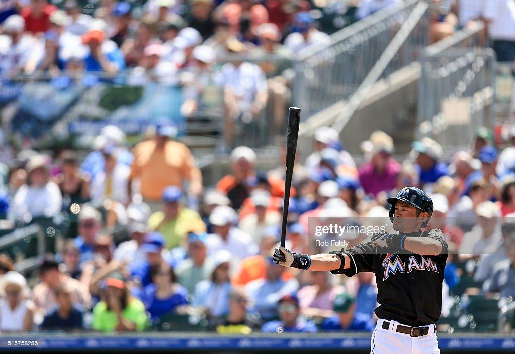 New York Mets v Miami Marlins : News Photo