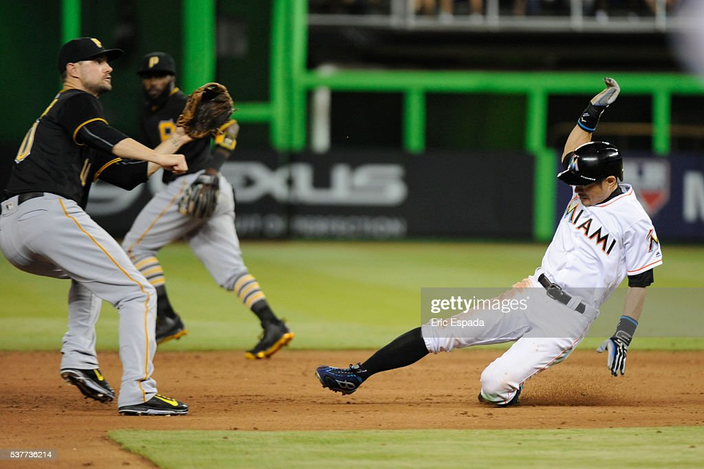 Pittsburgh Pirates v Miami Marlins : ニュース写真