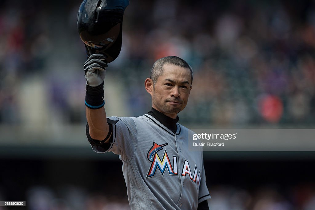 Miami Marlins v Colorado Rockies : News Photo