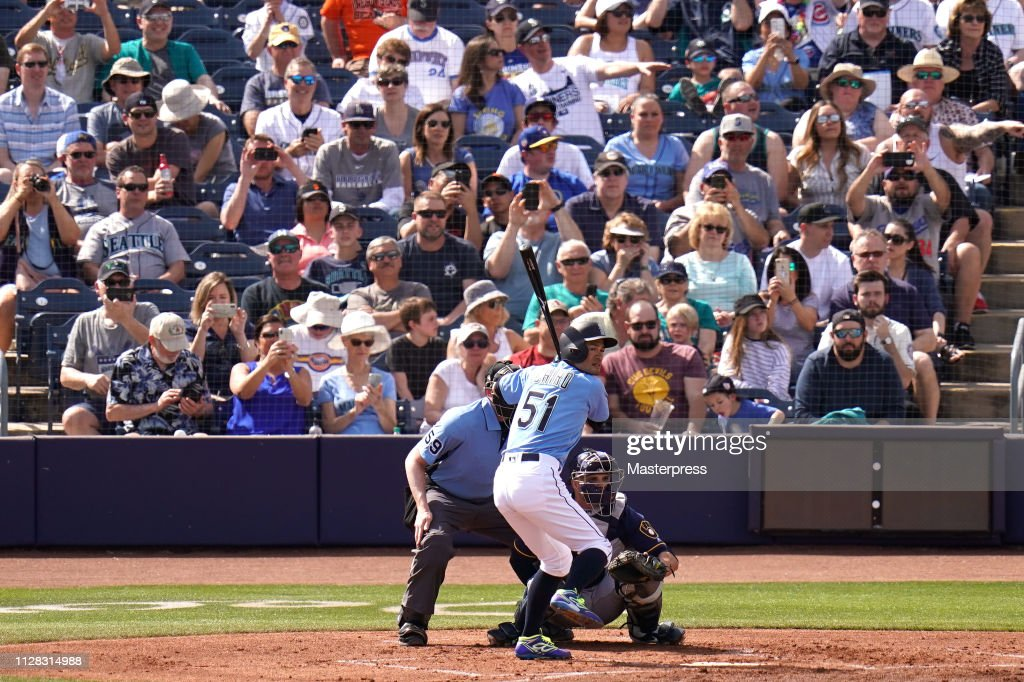 Milwaukee Brewers v Seattle Mariners : ニュース写真